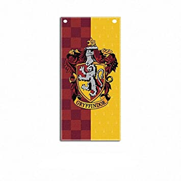 TianLinPT Harry Potter Gryffindor Slytherin Hufflepuff Ravenclaw Hogwarts Pared Banderas Banderas decoración de la casa para