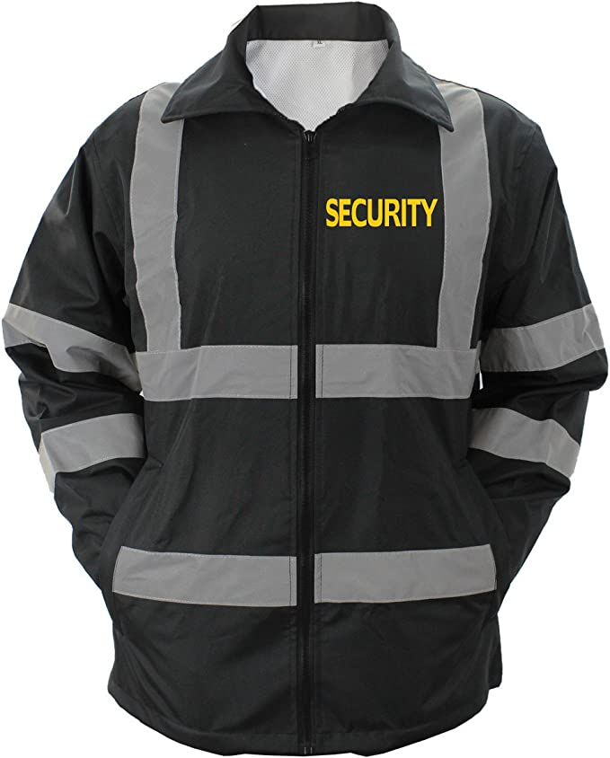 Choice4ever VOS Security 100/% Taffeta Nylon Water Resistant Lightweight Windbreaker