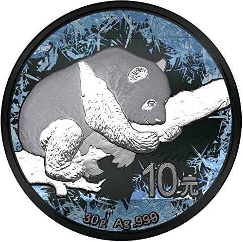2016 CN deep frozen CHINESE PANDA Deep Frozen Edition Silver Coin 10 Yuan China 2016 Dollar Perfect Uncirculated