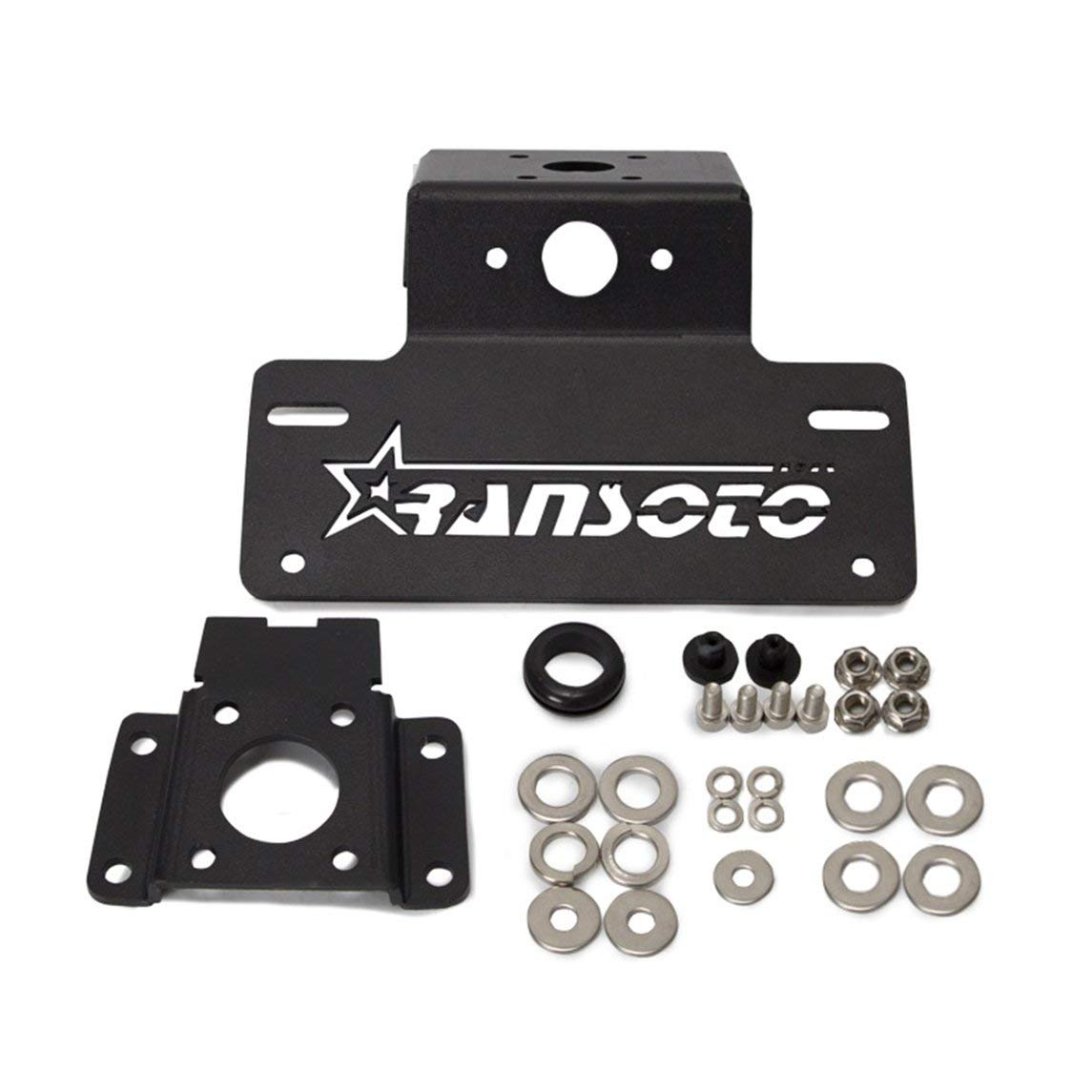 YXTFN Applicable For Yamaha Fz-07 & Mt-07 License Plate Frame Motorcycle Accessories