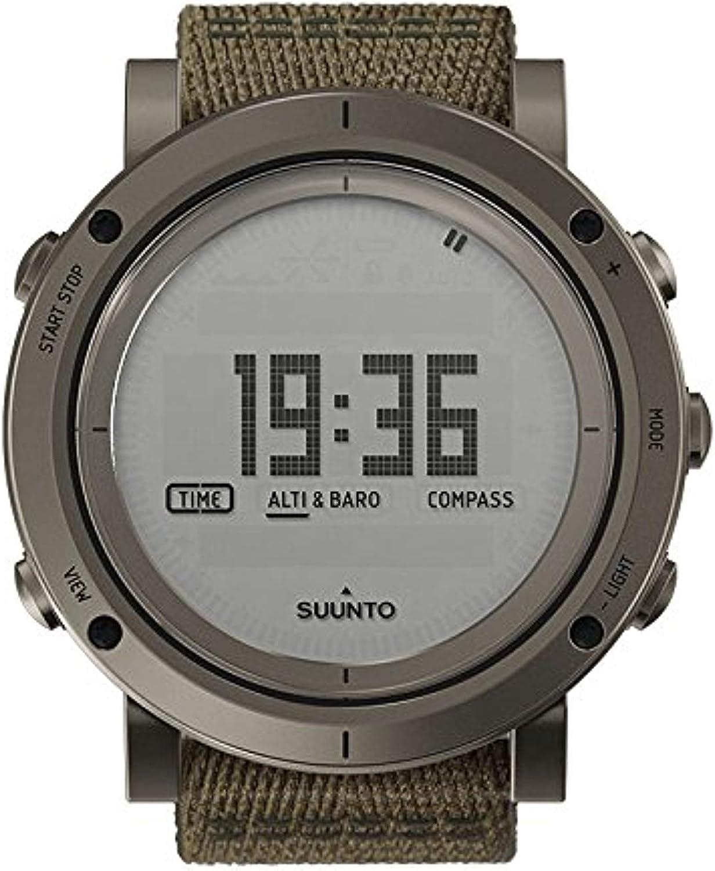 Suunto Essential Slate Digital Dial SS Textile Quartz Men039 s Watch SS021217000