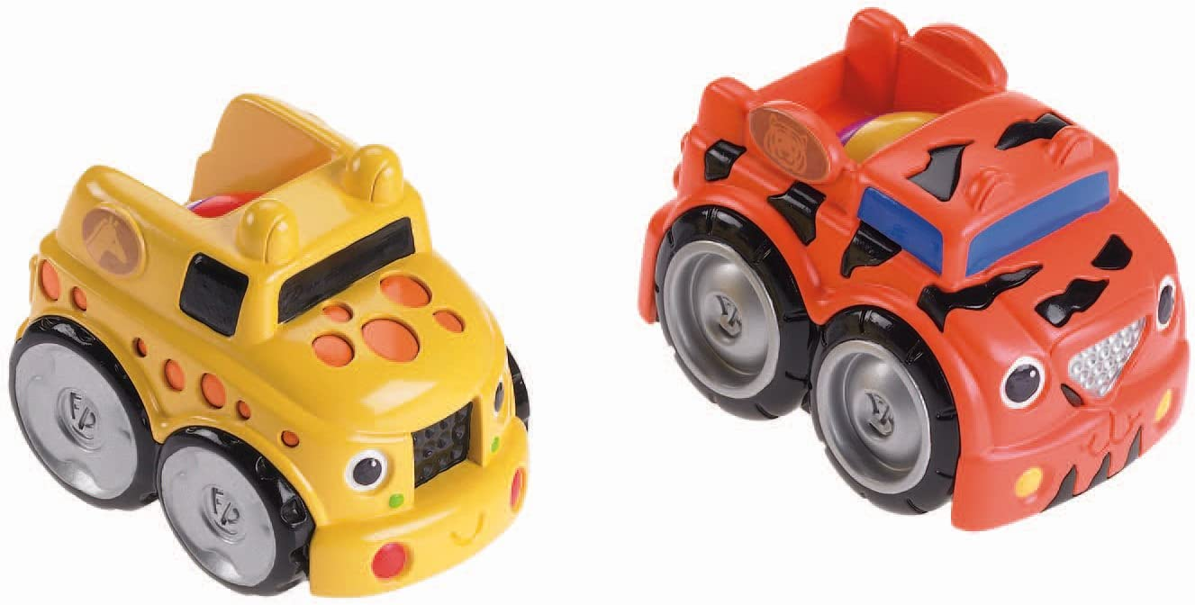 Fisher Price - Pack de 2 Divercoches Brum-Brum (Mattel W9831): Amazon.es: Juguetes y juegos