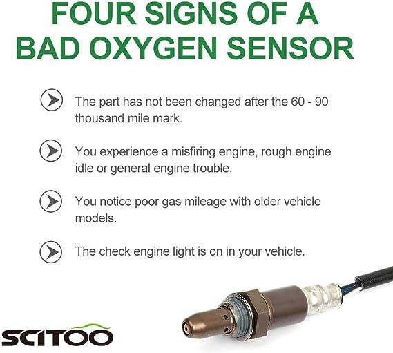 1 Downstream Oxygen Sensor 234-4222 15039 213-3046 234-9033 for 2008-2009 Suzuki SX4 Hatchback Sedan 2.0L ECCPP 1 Upstream Air Fuel Ratio Sensor