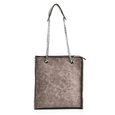 a5bec3ce7b3a SALLY YOUNG Fashion Women Handbag With Long Chain Handles Hobo Handbag  Shoulder Bag (apricot)