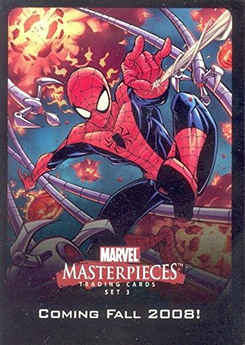 (MARVEL MASTERPIECES SERIES 2 2008 UDE POINTS & PROMO INSERT CARD FOR SET 3)