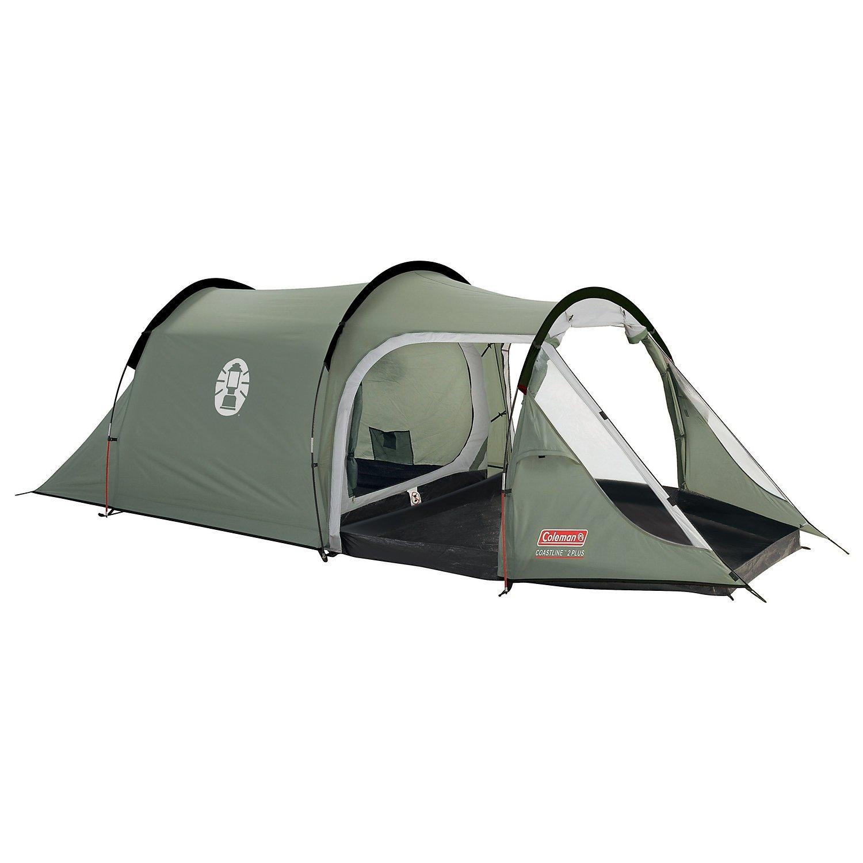 Coleman 2+ Coastline Tent Green/Grey 2 Person Amazon.co.uk Sports u0026 Outdoors  sc 1 st  Amazon UK & Coleman 2+ Coastline Tent Green/Grey 2 Person: Amazon.co.uk ...