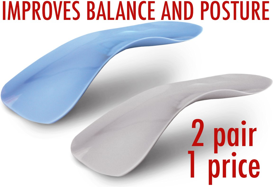 Foot Supports Int'l Travel Feet World's Thinnest Arch SUPPORTS Fits In Every Shoe - Orthotic Insoles For Instant Pain Relief
