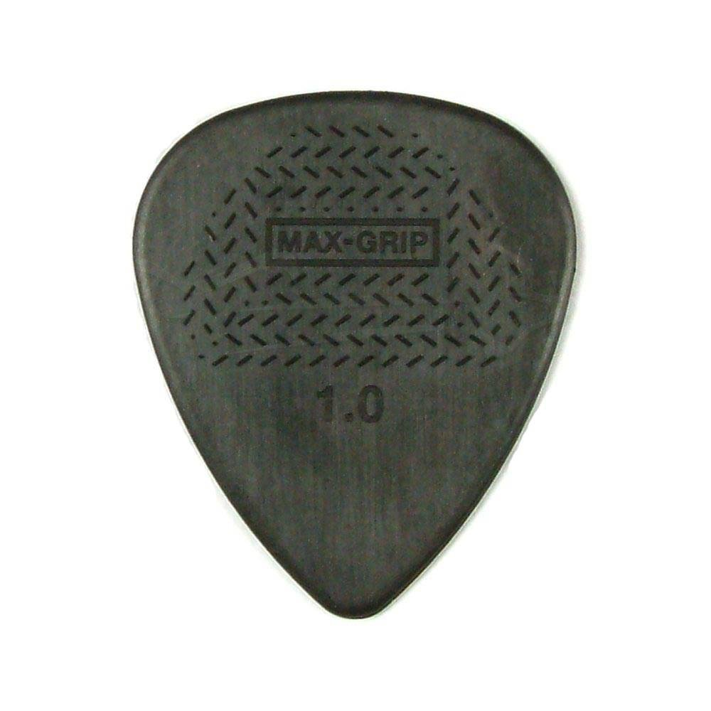 Dunlop 449R114 1.14mm Max-Grip Nylon Standard Guitar Picks, 72-Pack KMC Music Inc 22449114033