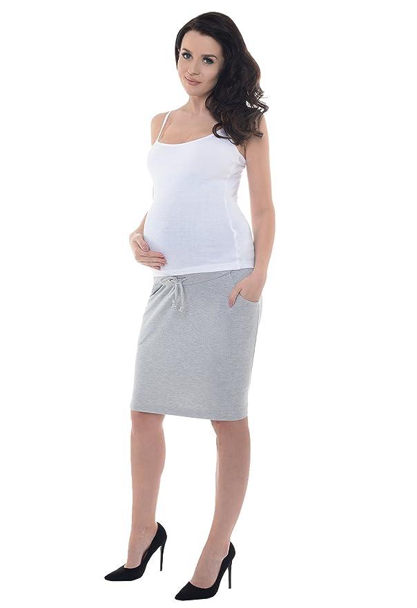 Purpless Maternity Maternidad Premama Embarazadas Falda Banda ...