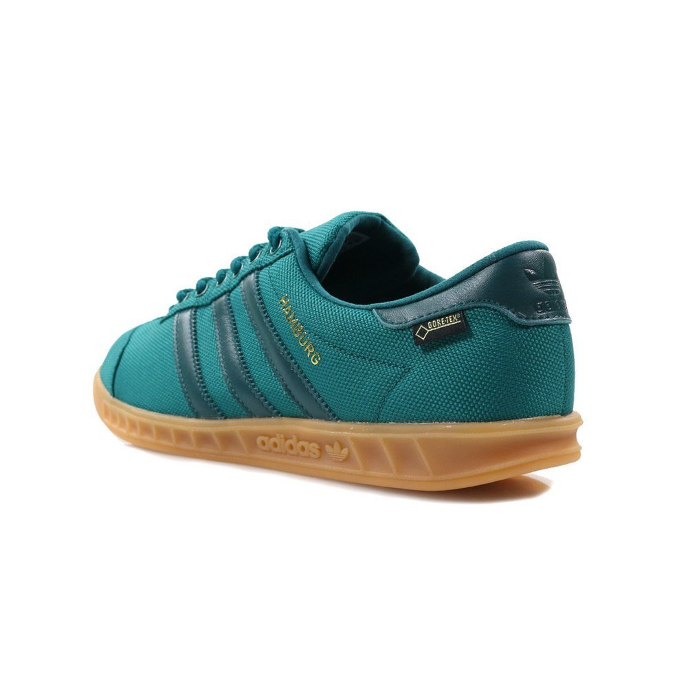 best website cf226 00d1c adidas Mens Originals Mens Hamburg GTX Trainers in Green - UK 6.5   Amazon.co.uk  Shoes   Bags