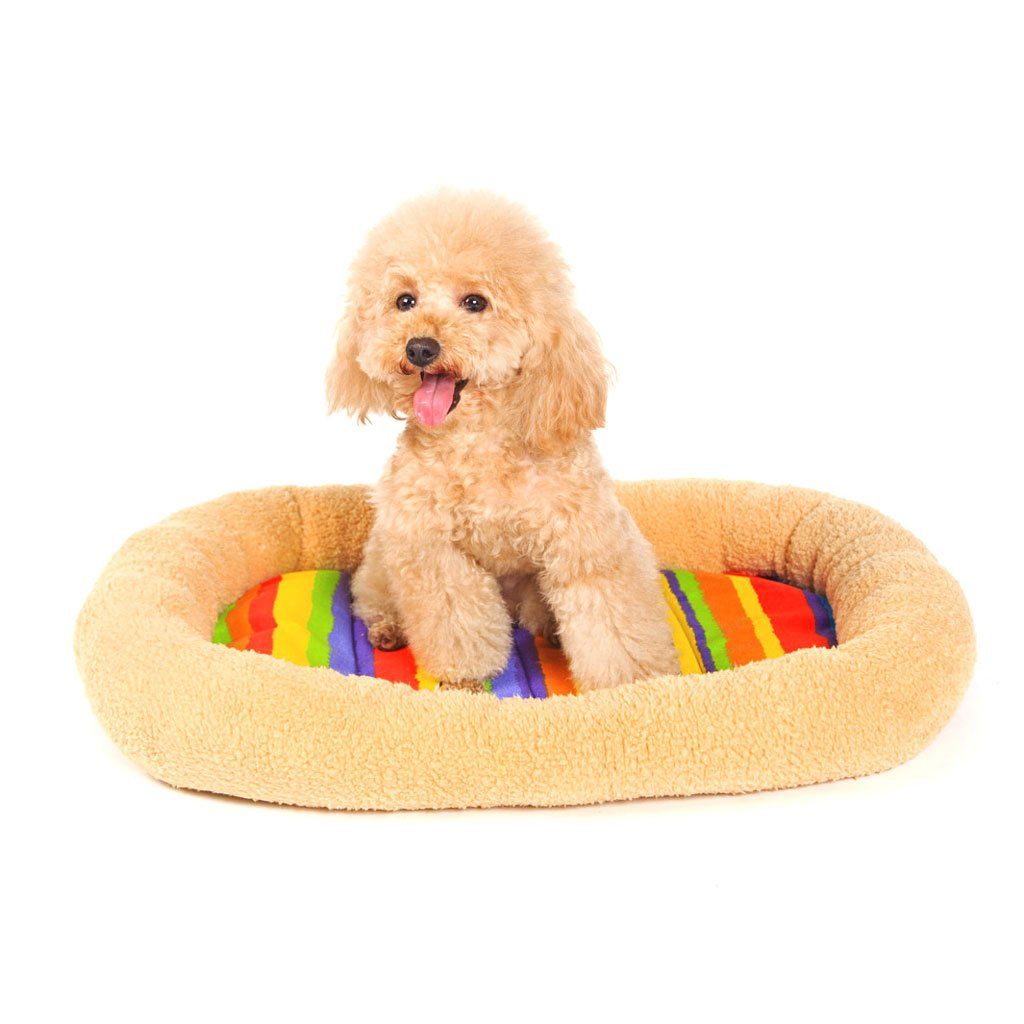 42cm34cm9cm Pet Bed Pet Bed Dog Mat Pet Mat Small Dog Pet Sleeping Pad Pet Waterloo Cat Nest Kennel Cat Mattress