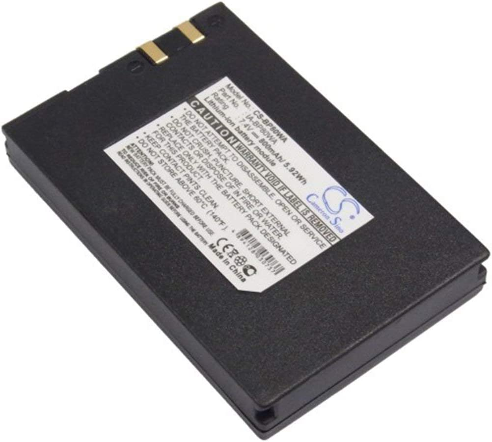 SC-DX103 VINTRONS 800mAh Battery For SAMSUNG VP-DX100i VP-D381 VP-DX105i SC-D385
