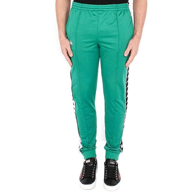 fornire un'ampia selezione di Super carino Sneakers 2018 Kappa A16 Green-Black-White BA Abbigliamento Uomo Pantaloni ...