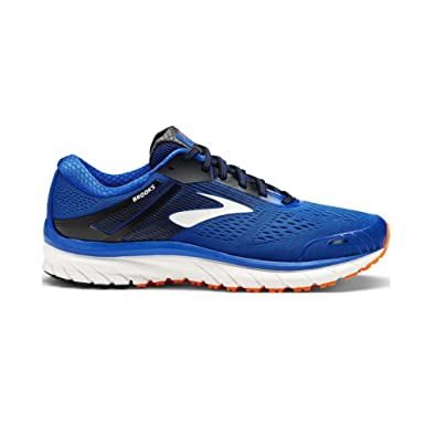 2a42dcca8fbb5 Brooks Adrenaline GTS 18 2E Wide Fit Mens Running Shoes - Blue - 10 ...