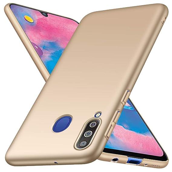 cc064bf61ea Funda Samsung Galaxy M30,Funda Protectora de teléfono Delgada Minimalista  Protector para Samsung