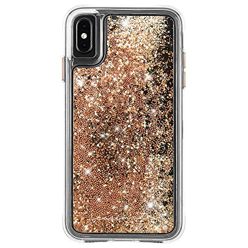 - Case-Mate - iPhone XS Max Case - WATERFALL - iPhone 6.5 - Gold