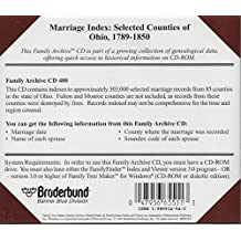 Family Tree Maker's: Family Archives: Marriage Index: Ohio