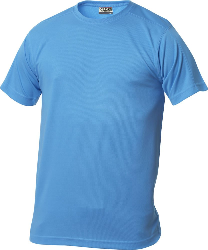 Perforated and Wicks Away Moisture in 10/ Colours Clique Mens Functional Polyester T-Shirt The T-Shirt for Sport Sizes S M L XL XXL XXXL XXXXL