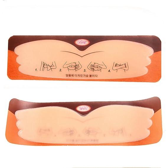 Yoli Sujetador Adhesivo - para Mujer Beige Color Carne Tamaño Libre