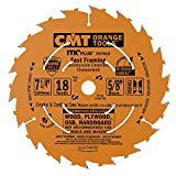 CMT P07018-x10 Saw Blade cutting kit for Fast Framing Masterpack with 7-1/4 '' x 18 Teeth, 10 degree ATB and Shear Angle, 5/8'' Bore (10 Pack)