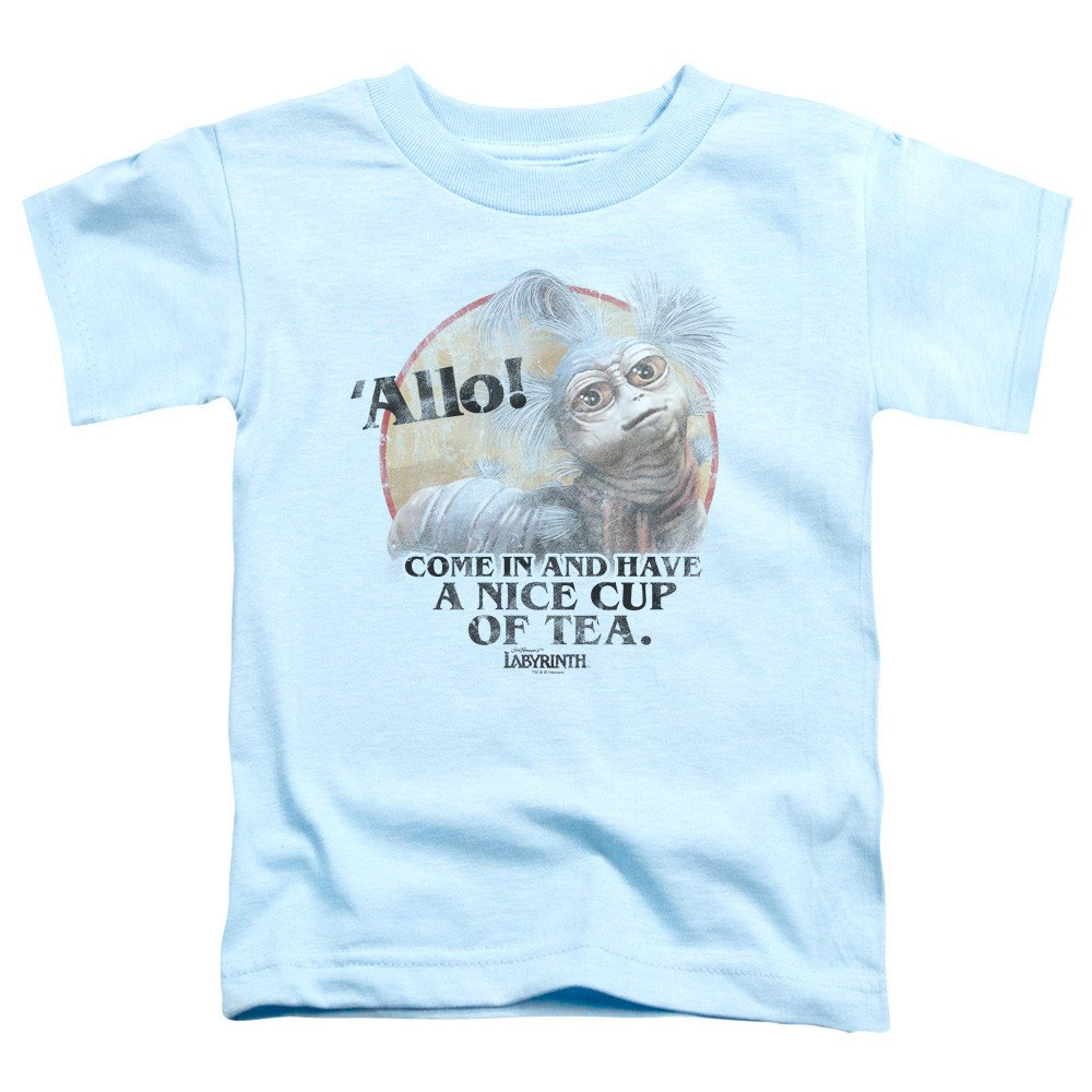 Tea Toddler T-Shirt 3T Light Blue Sons of Gotham Labyrinth
