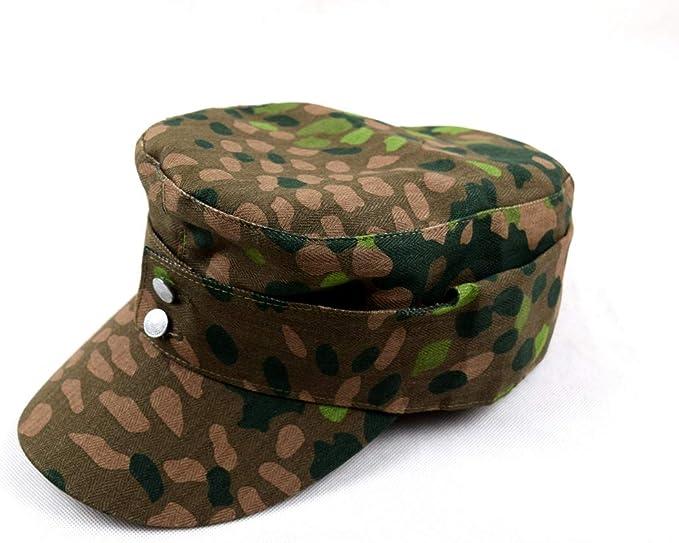 SIZE XL OUTDOORS MILITARY WW2 GERMAN ELITE DOT44 CAMO FIELD CAP HAT