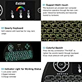 Estink FMKRFL1-IV22 Mini Wireless Keyboard with Touchpad Mouse Combo
