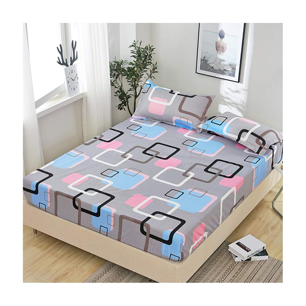Nwn Bed Cover Cover dust Cover Anti-Slip Bed Sheet (Color : B, Size : 2.02.2m) by Nwn