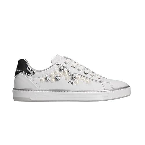 NERO GIARDINI Sneakers scarpe donna bianco 5270 mod. P805270D