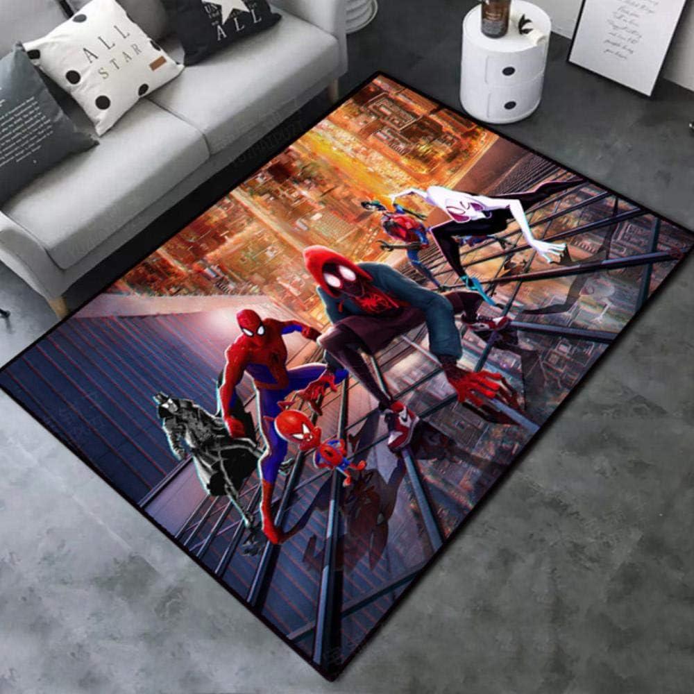 Valentina MacMillan Anime Spiderman Marvel Captain America Door mat Rug Carpet Floor Bedroom Doormat Non-Slip Mat Cartoon,Style 1,50x80cm 19.7x31inch