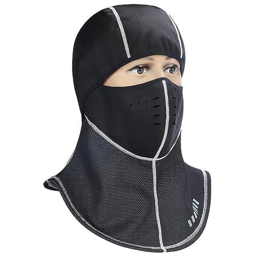 3b37dd7498647 C-Gardian Ski Face Mask Warm Hood Windproof Men Women Balaclava for Cold  Weather Winter
