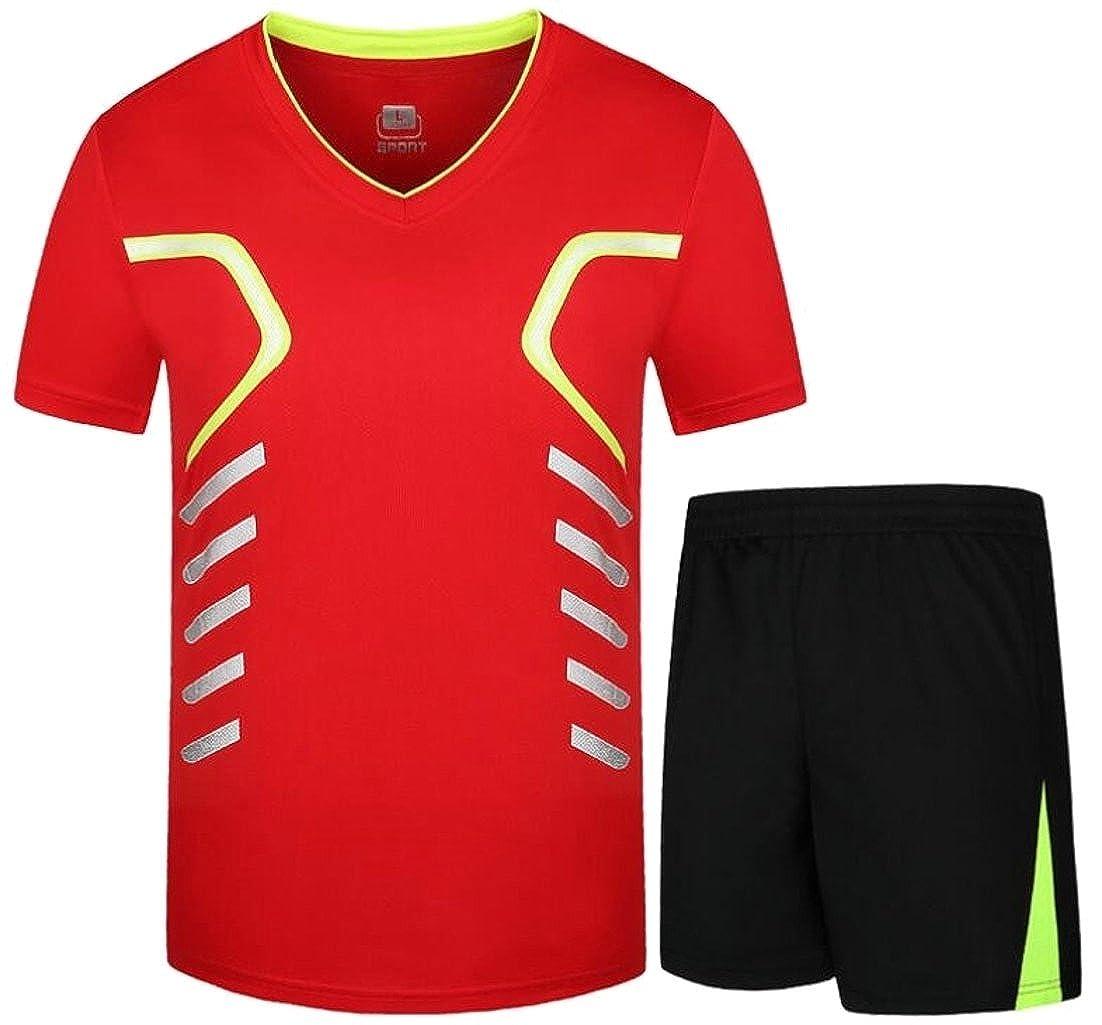 EKU Mens 2-Piece Short Sleeve T-Shirt and Shorts Pajama Set