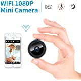 Mini Spy Camera, FREDI 1080P HD WiFi Hidden Camera Spy Cam, Small Wireless Home Security Surveillance Cameras with Night Vision, Motion Detection, Remote View for iPhone/Android Phone/iPad/PC