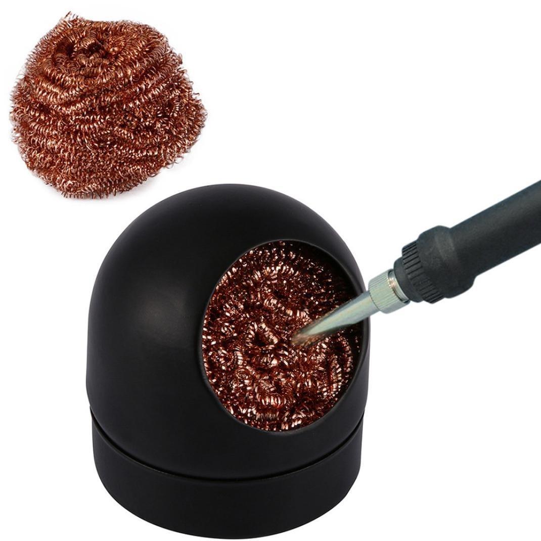 Creazy Soldering Solder Iron Tip Cleaner Steel Cleaning Wire Ball Heavy Duty Welding