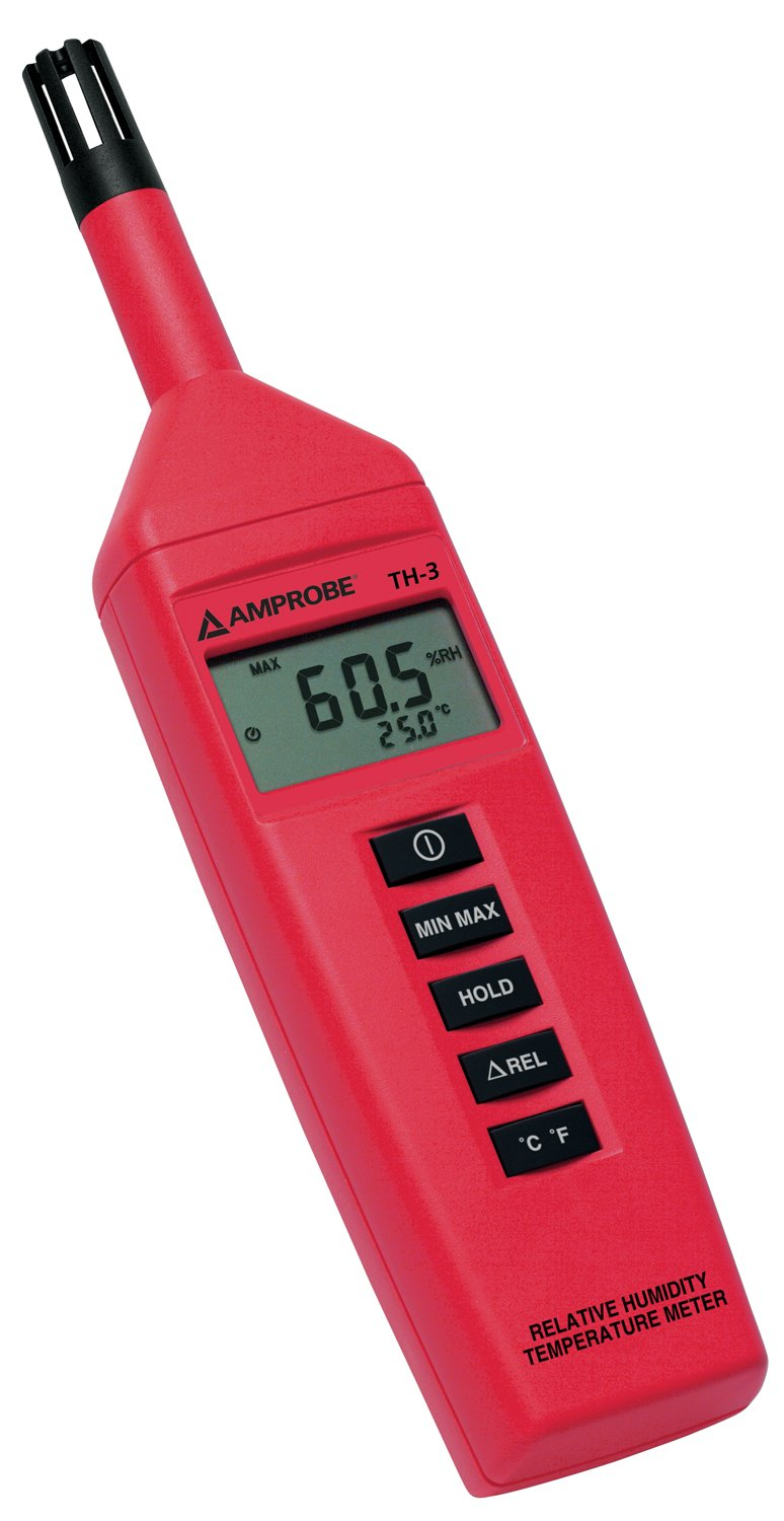 Amprobe TH-3 Relative Humidity Temperature Meter by Amprobe