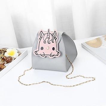 JL Bolsa De Hombro Bolsa De Cubo Bolsa De Dama Cadena De Dibujos Animados Mini Bolsa