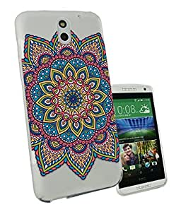 c0115 - Middle East Art Kubera Yantra Design htc Desire 620 Fashion Trend CASE Gel Rubber Silicone All Edges Protection Case Cover