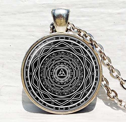 Jewelry tycoon®Mirror of Twilight Necklace, The Legend of Zelda pendant, Twilight Princess necklace, Art Gifts, for Her, for him