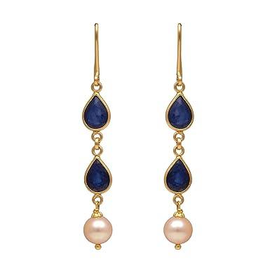 28085ea2fd956 Buy Joyalukkas 22k Yellow Gold Drop Earrings Online at Low Prices in ...
