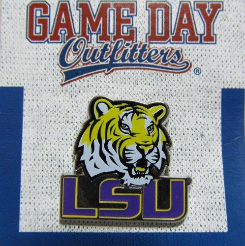 NCAA Louisiana State Fightin Tigers Logo Lapel Pin ()