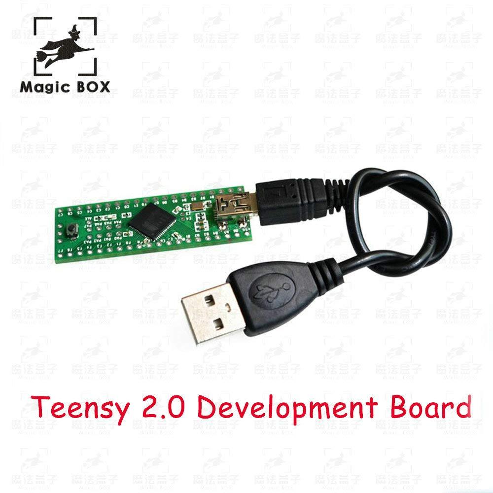 2.0 USB AVR develope Board for ps3 Teensy 3D Printer Genuine PJRC Teensy+ Free 1pcs USB Cable