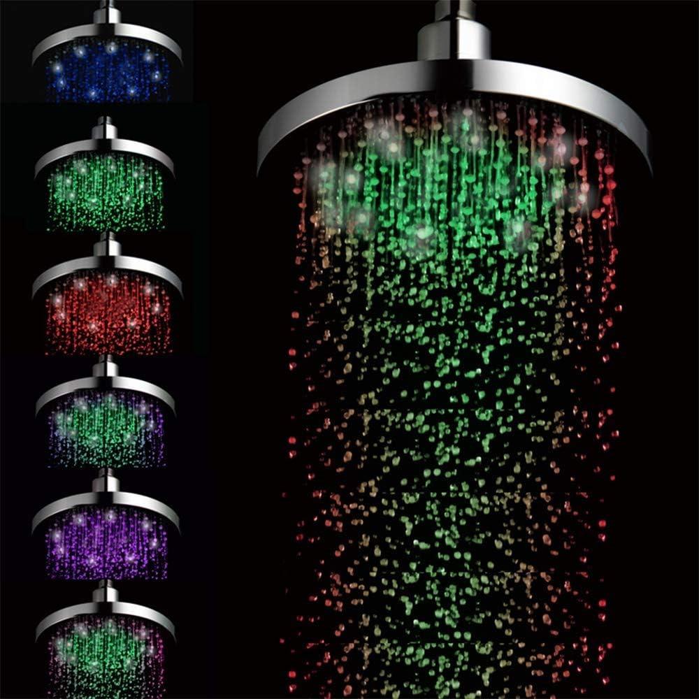 MUTANG 7 Colores Que cambian el Flujo de Agua del Cabezal de Ducha ...
