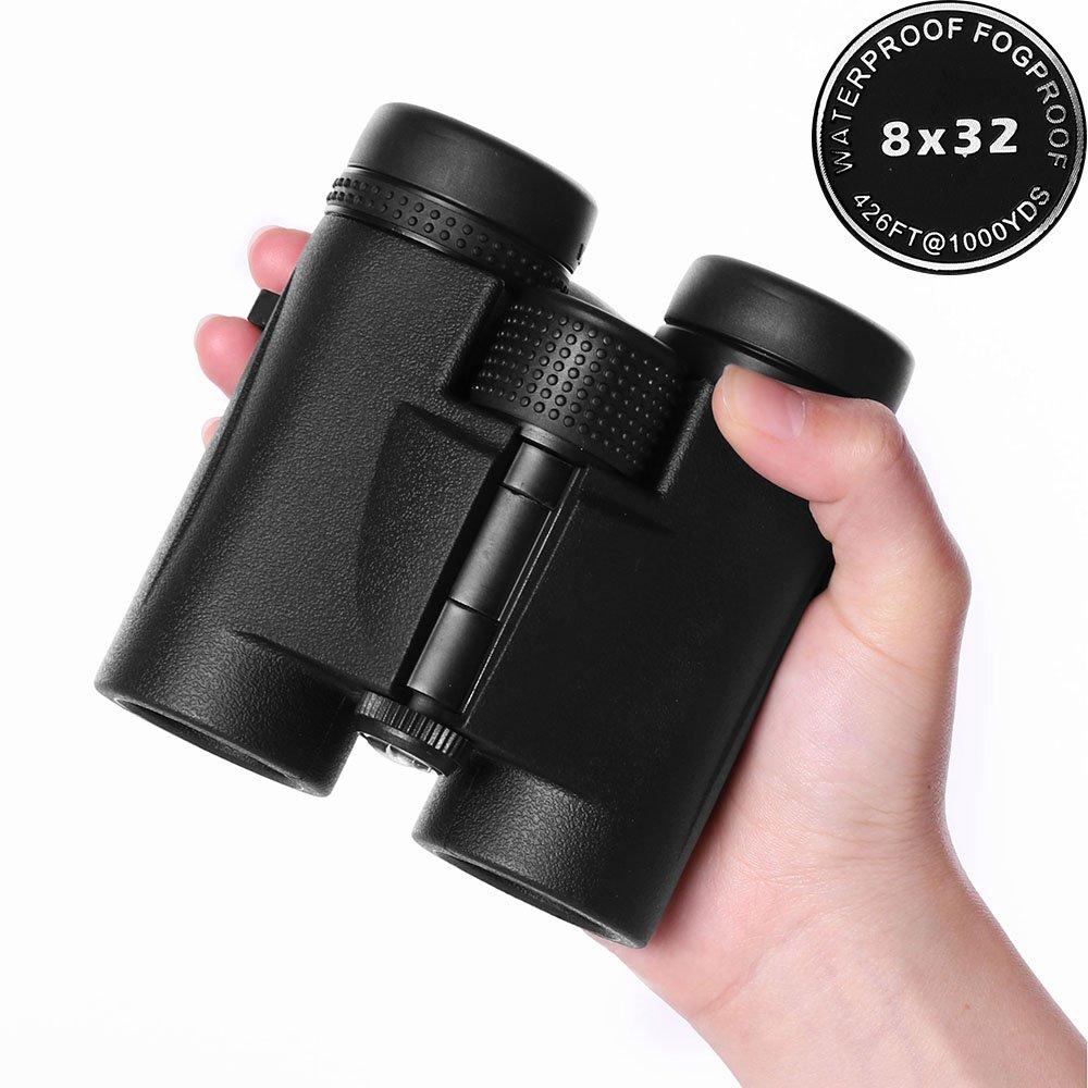 Anataコンパクト双眼鏡for Adults、8 x 32 /広角/防水/フェーズCoated屋根プリズム、プロフェッショナルHunting Bird Watching双眼cb-2 B07BQ1K98X