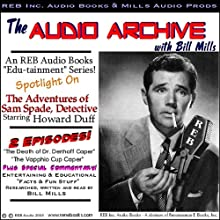 A Sam Spade Audio Double-Feature Starring Howard Duff, Volume 1 Radio/TV Program by Dashiell Hammett Narrated by Bill Mills, Howard Duff