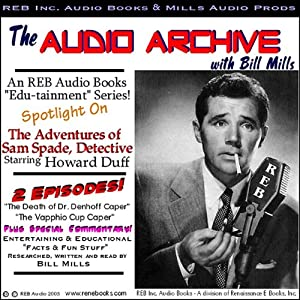 A Sam Spade Audio Double-Feature Starring Howard Duff, Volume 1 Radio/TV Program