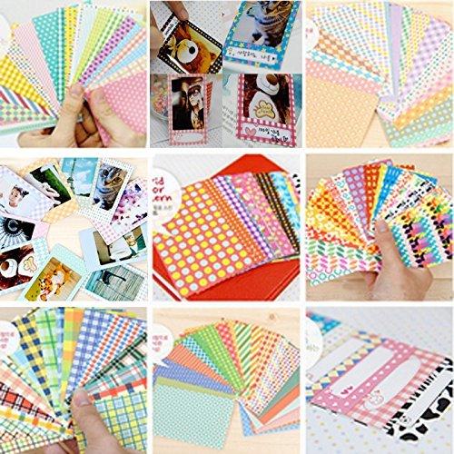 100 Sheets Winboss 5 Style Instant Films Sticker For FujiFilm Instax Mini 8 8s 7s 25 50s 90