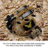 Tongcamo Fast PJ Paintball Airsoft Helmet for