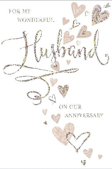 9 Anniversario Di Matrimonio.Oro Marito Biglietto Per Anniversario Di Matrimonio Mouse E