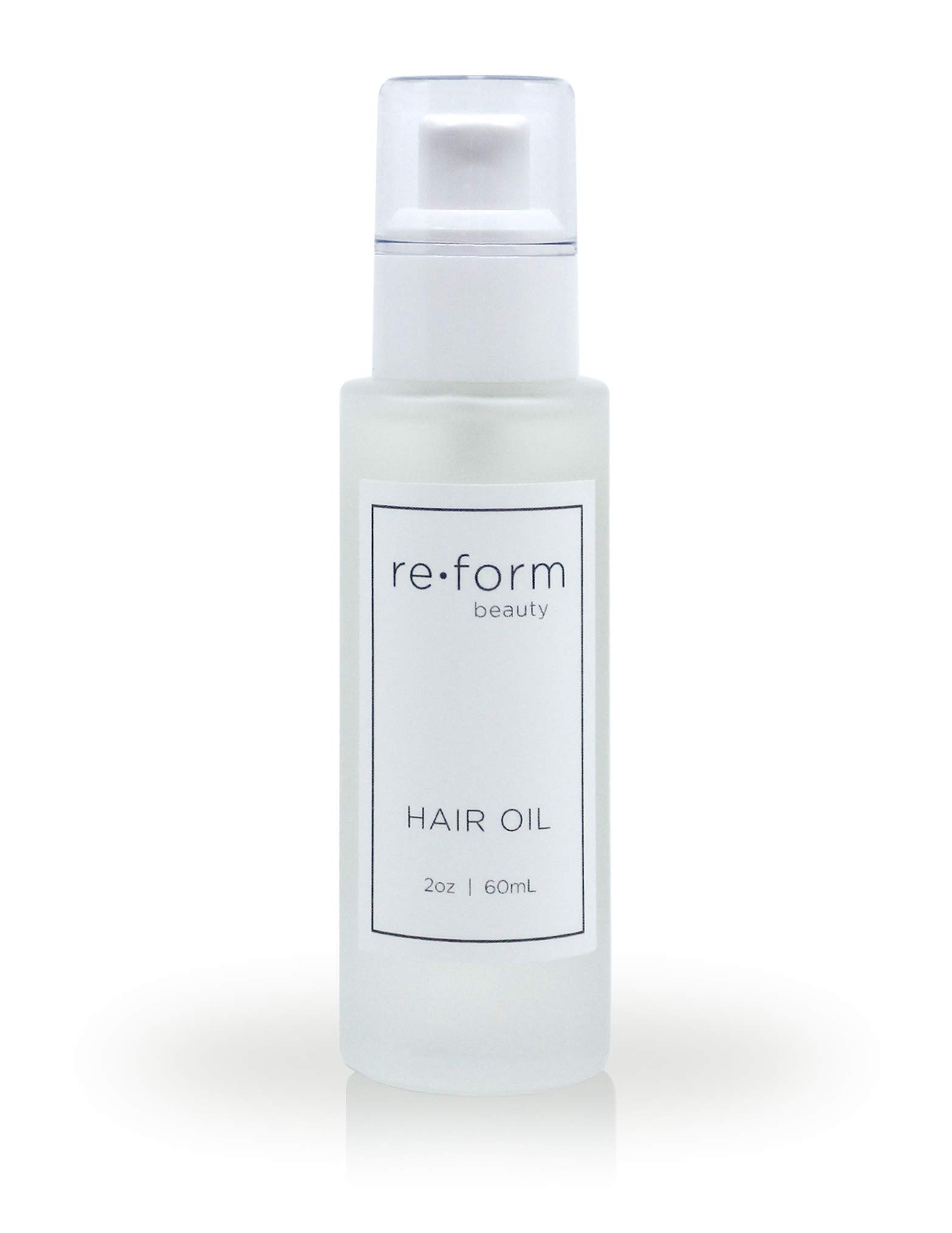 Reform Lightweight Hair Oil | Argan, Coconut, Moringa and Camellia Oils | Moisturizes, Nourishes, Protects Against Heat & UV | Color and Kertain Safe | Clean Ingredients | 2.0 fl oz