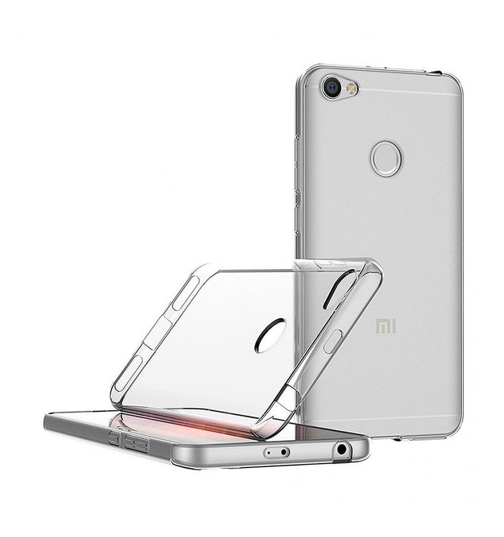 5.5 Pulgadas de Silicona Ultrafina y Flexible TBOC/® Funda de Gel TPU Morada para Xiaomi Redmi Note 5A